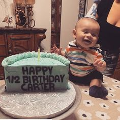 [New] The Best Dessert Ideas Today (with Pictures) - These are the best dessert ideas today (with pictures). 2nd Birthday Pictures, Half Birthday Cakes, Happy Half Birthday, First Baby Pictures, 2nd Birthday Boys, 6 Month Pictures, 6 Month Baby Picture Ideas Boy, Life Fitness, Six Month Baby