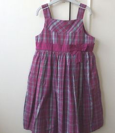Girls Age 3-9 Years BNWOT Mothercare Sleeveless Party Dress Red Tartan