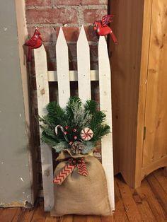 Christmas Fence 3