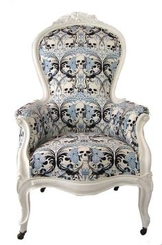 Gorgeous nursing chair. :)