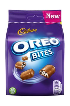 In news that has just brightened up our day, Cadbury has announced it is expanding its hugely popular Oreo range by launching two new products next month. Chocolate Candy Brands, Cadbury Chocolate Bars, Dairy Milk Chocolate, Cadbury Dairy Milk, Candy Packaging, Chocolate Packaging, Coffee Packaging, Bottle Packaging, Food Packaging