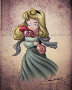 Child Briar Rose/Sleeping Beauty/Aurora