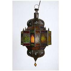 Moroccan Lantern #bohemian #decorating