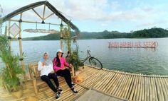 Taman Bambu Air Sermo, Kulon Progo.