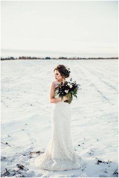 Rustic Bridal Shoot Inspiration via Rocky Mountain Bride Winter Wedding Ceremonies, Winter Weddings, Wedding Ceremony, Winter Mountain Wedding, Snowy Wedding, Wedding Isles, Winter Wedding Inspiration, Bridal Shoot, The Ranch