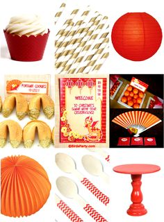 Chinese New Year Party Ideas and Printables !! by Bird's Party #Chinese #ChineseNewYear #PartyIdeas #Festas