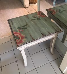 This Pin was discovered by Nur Repainting Furniture, Furniture Update, Hand Painted Furniture, Refurbished Furniture, Furniture Making, Furniture Decor, Vintage Wood, Shabby Chic Decor, Cool Diy