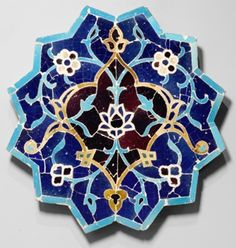 Islamic Star Patterns in Tile Design -- Dating back to as early as the 7th century the Islamic Arts have influenced an array of cultures and societies, such as the notable geometric designs in their tile work. These tiles were commonly used as floor and wall applications and to decorate mihrabs, the architectural niches in mosques. Examples of this work still exist in Spain, Italy, Morocco, India, and Turkey.