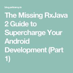 Descarga en pdf del manual del servicio backend as a service de the missing rxjava 2 guide to supercharge your android development part 1 malvernweather Image collections