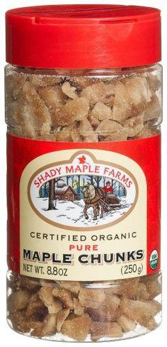 Shady Maple Farms #Organic Maple #Sugar, Chunks - a delicious alternative to cane sugar.