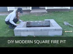 Cheap Fire Pit, Easy Fire Pit, Cool Fire Pits, Cheap Outdoor Fire Pit, Paver Fire Pit, Concrete Fire Pits, Fire Pit Backyard, Wood Burning Fire Pit, Concrete Patios