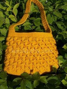 8312c51b7b203 Summer Days Crochet Purse by karuka on Etsy Crocheted Purses