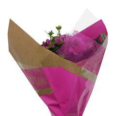 Krafty Mesh Reversa Prefold   Reversa/BOPP   Available sizes: 33cm, 44cm & 51cm   Available other colors: Blossom, Golden Tickseed, Pumpkin, Red, Dark Lavender & Basil