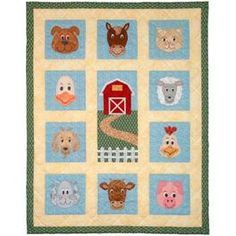 Farm Fresh Faces Quilt Pattern