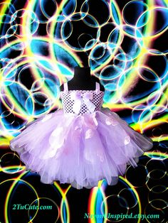Lavender Specialty Couture Tutu by NayomiInspired on Etsy