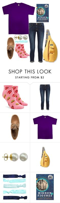 """""""Watch the movie and read the book it's extremely inspirational"""" by ava-navarrrroo ❤ liked on Polyvore featuring Forever 21, Frame, Sperry, Gildan, Majorica and Kavu"""