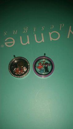 Christmas & halloween lockets