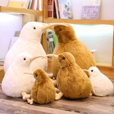 $27.98 $13.99 Stuffed animals are good at hugging, comforting, and listening and are fond of play and mischief. Best gift for animal lovers or plushie lovers and it's a beautiful home decoration on desk, bedroom.This stuffed animal is securely sewn from the highest quality polyester and acrylic fabrics and filled with white polypropylene plush filling, exclusively all-new material.irresistibly soft, this stuffed animal bunny is always ready for cute cuddles and soft snuggles.Our exclusive Cute Stuffed Animals, Cute Animals, Kiwi Bird, Bird Toys, Cute Birds, Child Doll, Plush Animals, Classic Toys, Plushies