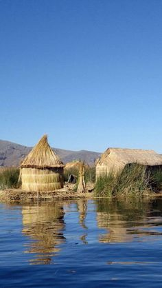 Lake, Titicaca, Peru - I always believed that you could experience anything through literature. But there is no way the experience of stepping onto those floating islands can be described outside of personal experience.