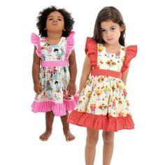 Rock Your Baby Dolly Dress - Retro Sundaes Rock You Baby, Dolly Dress, Summer Baby, Learn To Sew, Retro Dress, Beautiful Children, Vintage Children, Printing On Fabric, Retro Vintage