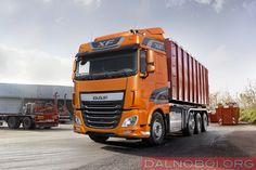 DALNOBOI.ORG : DAF выпустила четырехосные версии CF и XF Euro 6