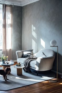 my scandinavian home: The Beautiful Berlin flat and Country Retreat of Our Food Stories #livingroom