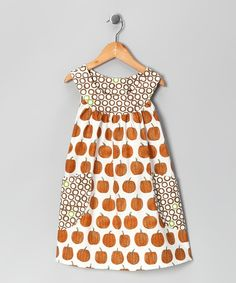 adorable pumpkin dress