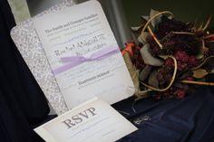 Wedding invitation package  Vintage lace