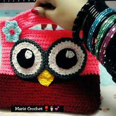 Crochet Owl Purse 💕💕