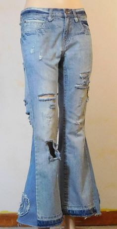 4280877bd6e 179 Best Bell Bottom   Upcylced Jeans images in 2019