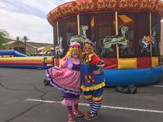 Arizona Clowns was created in 1996 a mother-daughter team that has been bringing fun to Arizona events and parties for over 20 years. Hire a clown today! Petunias, Clowns, Special Events, Harajuku, Law, Balloons, Daughter, Sweet, Fashion