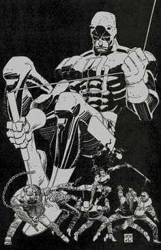 Daredevil pencils by John Romita Jr. for Marvel Comics. Marvel Comics, Marvel Comic Books, Marvel Art, Comic Books Art, Comic Book Artists, Comic Artist, Daredevil Man Without Fear, Daredevil Punisher, Daredevil Artwork
