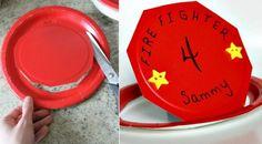 Feuerwehr Geburtstag feiern - Ideen für Deko, Spiele und Co. Kindergarten, Buffet, Firefighter Games, Fireman Party, Fireman Birthday, Kindergartens, Preschool, Preschools, Pre K