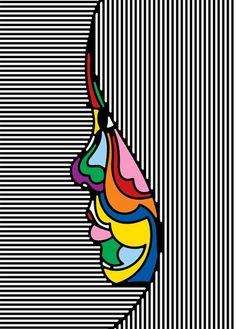 Contraste del color en sí mismo ;)