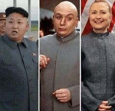 Who-Wore-It-Better-Hillary-Clinton funny pictures with captions pictures Kim Kardashian Funny Memes funny Donald Trump Dank