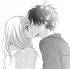 Image about cute in anime manga by Imfyou on We Heart It Cute Couple Drawings, Anime Couples Drawings, Anime Couples Manga, Manga Couple, Anime Love Couple, Desu Desu, Anime Amor, Romantic Anime Couples, Cute Anime Coupes