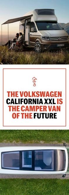 The Volkswagen California XXL Is the Camper Van of The Future