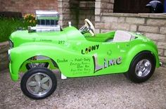 Gasser style pedal car...