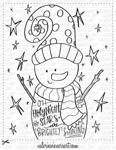 Check out my shop at valeriewienersart.com   #valeriewienersart #coloringpage #coloringpages #classroom #homeschool #instantprintable #christmascoloringpage #christmascoloringsheet #handlettering #handletteredart #homedecor #calligraphy  #creativelettering #handmade #digitalprint #christmasfun #christmascoloringbook #wintercoloringbook #christmastime #christmas #snowman #ohholynight #stars