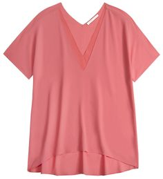 The Molly Double V Tee! #fashion #style #nude #neutral #coral #peachykeen