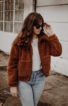 Teddy Bear Coat #style #styleblogger #fashion #fashionblogger