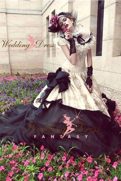 Gothic Wedding Dress Available in Every Color