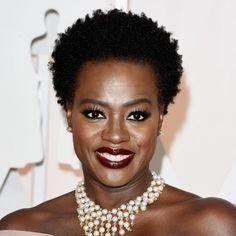 Viola Davis' hair looks SO regal.~This is beauty 2018 Haircuts, Cool Haircuts, Pixie Haircuts, Layered Haircuts, 2015 Hairstyles, Black Women Hairstyles, Oscar Hairstyles, Casual Hairstyles, Beautiful Hairstyles