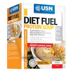 USN Diet Fuel Protein Soup | USN (Ultimate Sports Nutrition) - Official Trade Sports Nutrition Distributor | Tropicana Wholesale