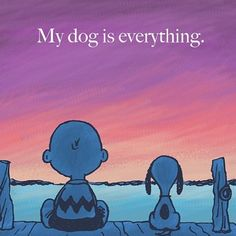 18 Heart-warming Dog Quotes About Life and Love - Funny Dog Quotes - my dog is everything. The post 18 Heart-warming Dog Quotes About Life and Love appeared first on Gag Dad. I Love Dogs, Puppy Love, Cute Dogs, Funny Dogs, Snoopy, Animals And Pets, Cute Animals, Mundo Animal, Tier Fotos