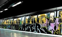 Bucharest subway desktop PC and Mac wallpaper Hype Wallpaper, Graffiti Wallpaper, Graffiti Writing, Graffiti Art, Top 10 Wallpapers, Graffiti Pictures, Street Installation, Urban Beauty, Urban Street Art