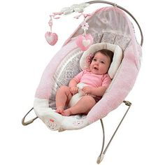 Fisher-Price - My Little Sweetie Deluxe Bouncer, Pink