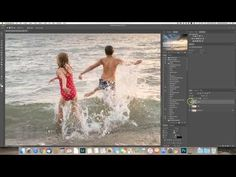 How I edit backlit beach photos in Lightroom and Photoshop