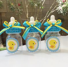 12 small Duck baby shower favors -boy baby shower favors-Rubber duck baby shower- rubber duckie baby shower-little duck baby shower Baby Shower Decorations For Boys, Baby Shower Centerpieces, Baby Shower Favors, Baby Shower Themes, Baby Shower Gifts, Shower Ideas, Ducky Baby Showers, Baby Shower Duck, Rubber Ducky Baby Shower