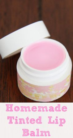 Homemade DIY Tinted Lip balm  if I ever get the ingredients then I will make this